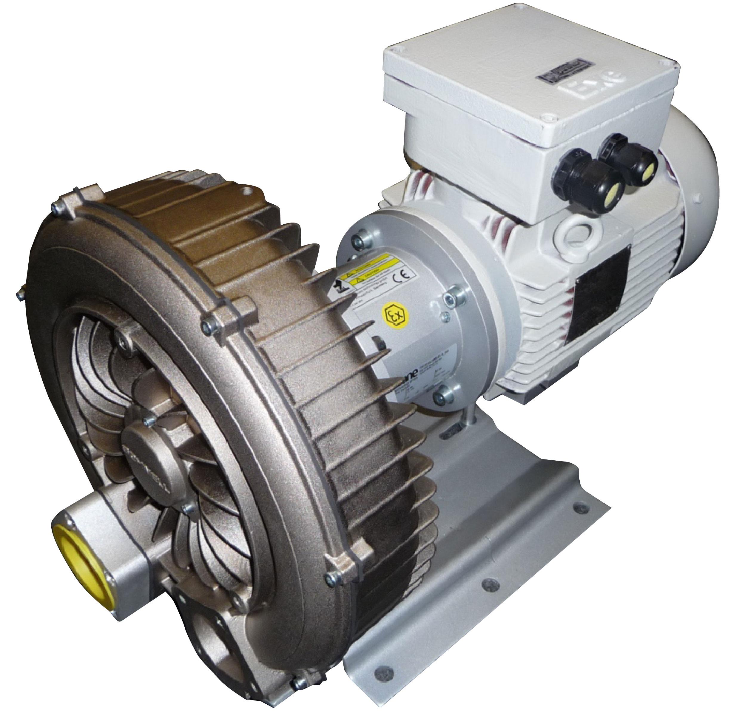 ATEX Side Channel Blower Pressure Vacuum Vacuvane #746642